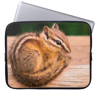 Chilly Chipmunk Laptop Sleeve