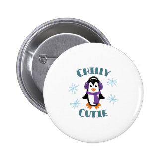 Chilly Cutie 2 Inch Round Button