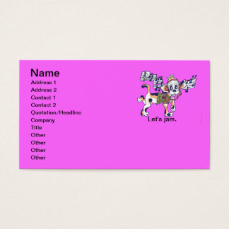Chilly Dog The Dancing Beagle Business Card