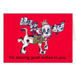 Chilly Dog The Dancing Beagle Card