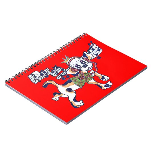 Chilly Dog The Dancing Beagle Notebook