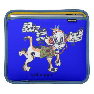 Chilly Dog The Dancing Beagle Sleeve For iPads