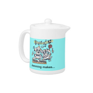 Chilly Dog The Dancing Beagle Teapot