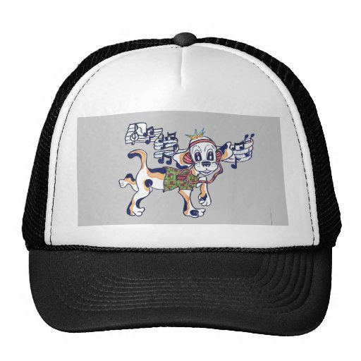 Chilly Dog The Dancing Beagle Trucker Hat