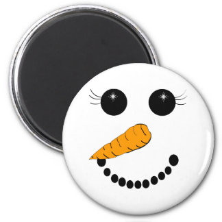 Chilly Face 2 Inch Round Magnet