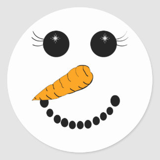 Chilly Face Sticker