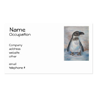 Chilly Little Penguin Business Cards