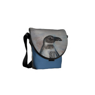 Chilly Little Penguin Mini Messenger Bag
