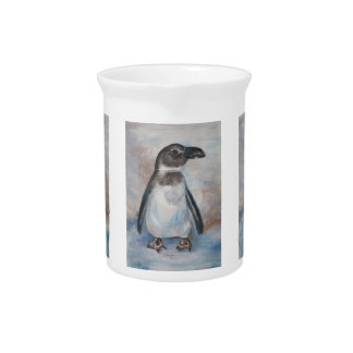 Chilly Little Penguin Beverage Pitchers