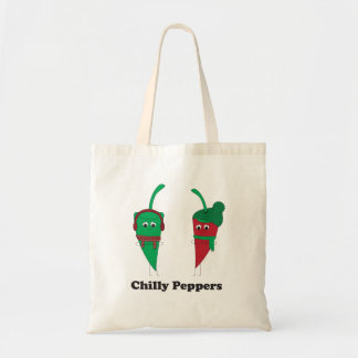 Chilly Peppers Tote Bag