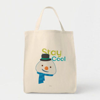 Chilly- Stay Cool 2 Grocery Tote Bag