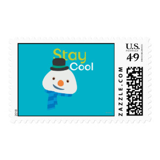 Chilly- Stay Cool 3 Postage Stamp