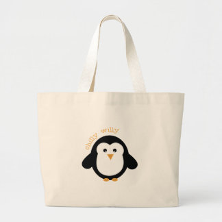 Chilly Willy Jumbo Tote Bag