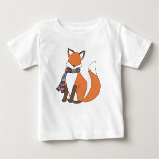 Chilly Winter Fox T Shirt