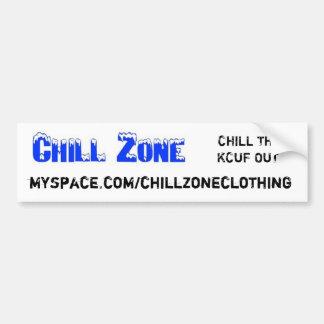 chillzone, myspace.com/chillzoneclothing, FRIALDAD Pegatina Para Auto