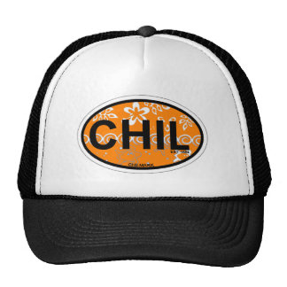 Chilmark Oval Design. Trucker Hat