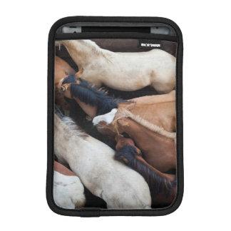 Chiloe Island ferry, horses Sleeve For iPad Mini
