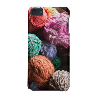 Chiloe wool yarn dyed with natural dyes iPod touch (5th generation) cover