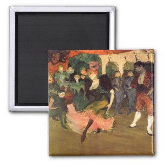 Chilperic by Toulouse-Lautrec Fridge Magnets