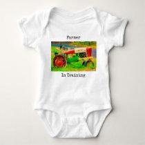 "Chils Onsie ""Farmer In Training"" Shirt"