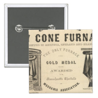 Chilson, Gould y Company Pin Cuadrado