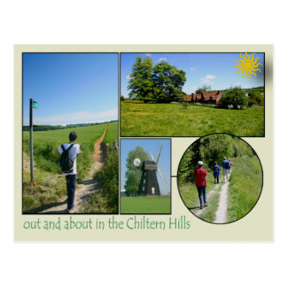 Chiltern Hills Postcard