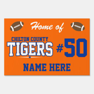 Chilton County; Tigers Sign