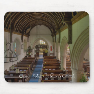 Chilton Foliat St Mary's Church Mouse Pad