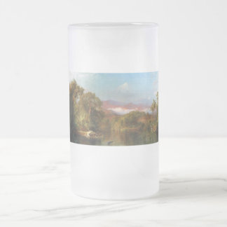 Chimborazo, Ecuador by Frederick Edwin Church Frosted Glass Beer Mug