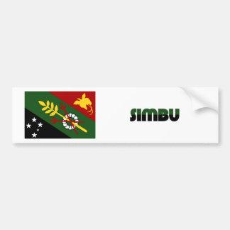 Chimbu Province, PNG Bumper Sticker