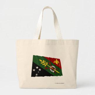 Chimbu Province Waving Flag Canvas Bag