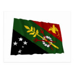 Chimbu Province Waving Flag Post Cards