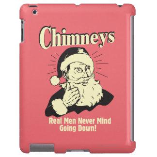 Chimeneas: Los hombres reales nunca importan el ir Funda Para iPad
