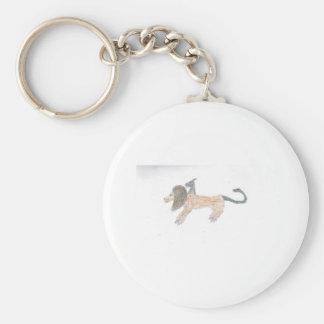Chimera Basic Round Button Keychain