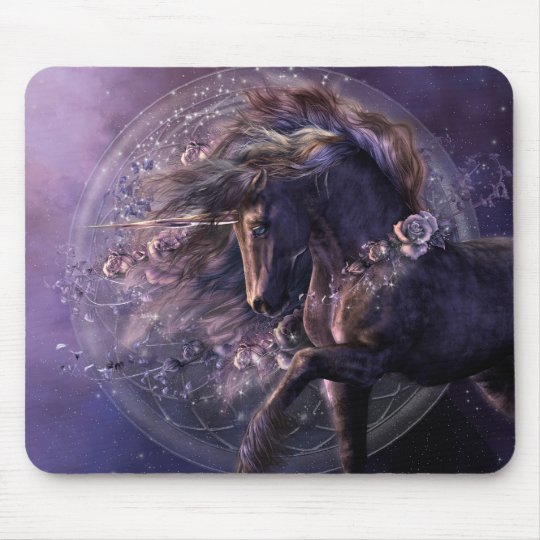Chimera Black Rose Mousepad