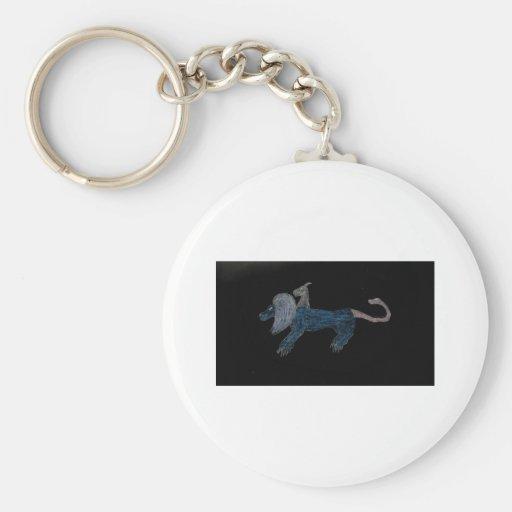 Chimera Blue Key Chains