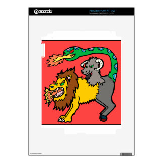 Chimera - Book of Monsters Decal For The iPad 2