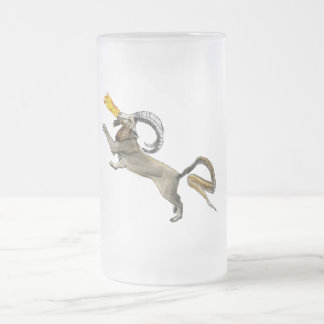 Chimera Frosted Glass Beer Mug