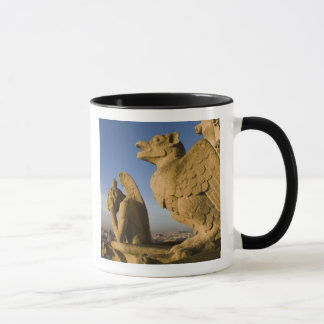 Chimera on facade of Notre Dame Cathedral, Mug