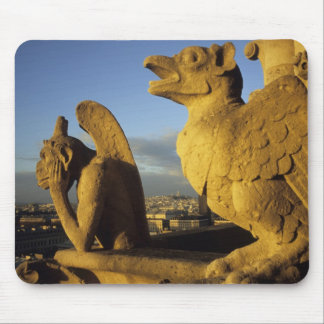 Chimera, re Dame Cathedral, Paris, France Mouse Pad