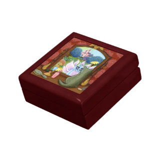Chimera Vanity, Fairy Cat Fantasy Art Gift Box