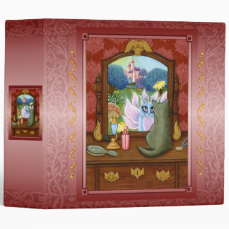 "Chimera Vanity, Fairy Cat Mirror Fantasy 2"" Binder"