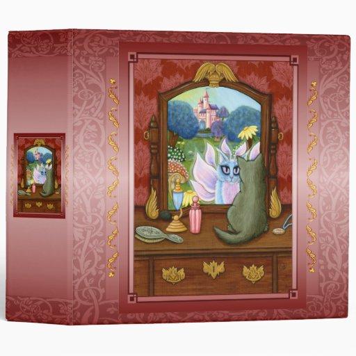 "Chimera Vanity, Fairy Cat Mirror Fantasy 2"" Binder"