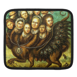 Chimera Winged Creature Early 18th Century Monster iPad Sleeves