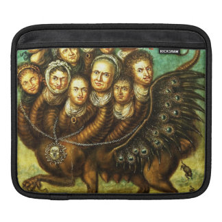 Chimera Winged Creature Early 18th Century Monster Sleeve For iPads