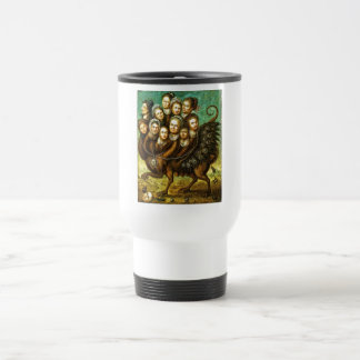 Chimera Winged Creature Early 18th Century Monster Travel Mug