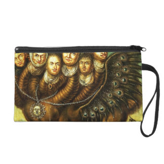 Chimera Winged Creature Early 18th Century Monster Wristlet Purse