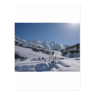 Chimgan Ski Slope Postcard