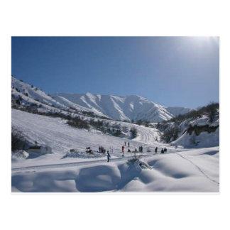 Chimgan Ski Slope Post Cards