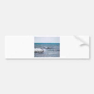 Chimney Bluffs Bumper Sticker